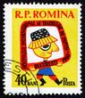 Postage stamp Romania 1960 Petrushka, Russian Puppet