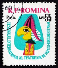 Postage stamp Romania 1960 Puppet