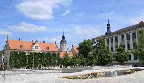 Marktplatz mit Rathaus in Riesa - 67095312