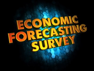 Economic Forecasting Survey on Digital Background.