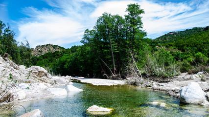 Gorropu River during Spring