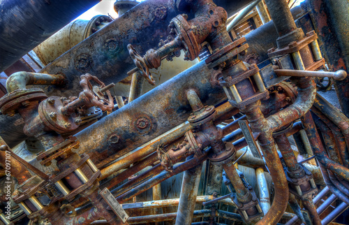 canvas print picture Industrie
