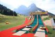 parco giochi scivoli per bambini e ragazzi