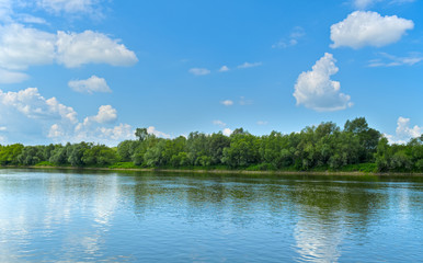 Riverside of river Vistula.
