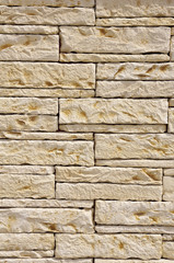 Stone wall closeup