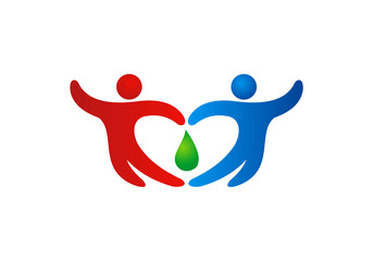 people join hand solidarity logo