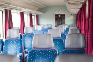Car of modern passenger train