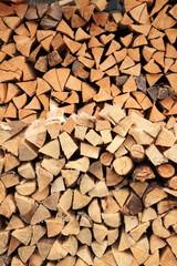 catasta legna dolomiti trentino alto adige