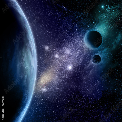 Abstract space background © Kirsty Pargeter