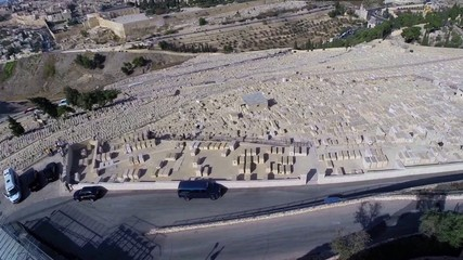 Mount of Olives Aerial view
