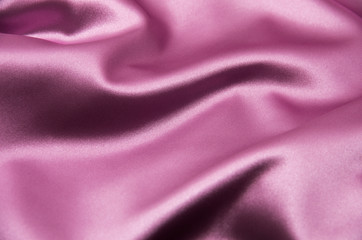 Smooth elegant pink satin