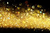 Gold glitter - Fine Art prints