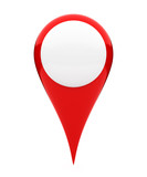 Blank location marker