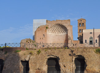 Temple of Venus in Rome