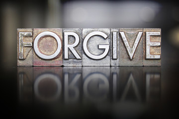 Forgive Letterpress