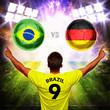 Halbfinale - Deutschland gegen Brasilien