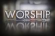 Worship Letterpress - 67102344