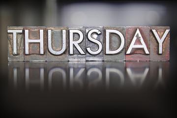 Thursday Letterpress