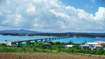 Bridge to Kouri Island