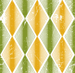 Rhombus seamless pattern, abstract geometric tiling background,