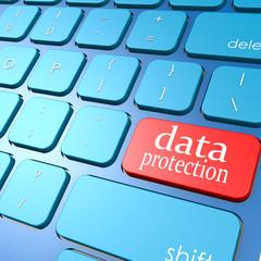 Data protection keyboard