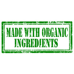 Made With Organic Ingredients