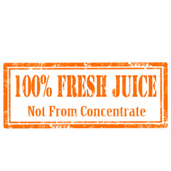 Fresh Juice-stamp