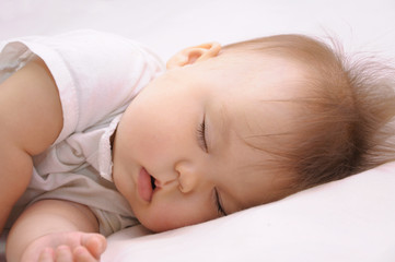 Newborn baby sleeping quite