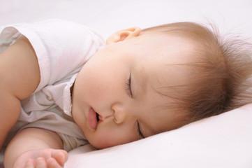 Newborn baby sleeping quite