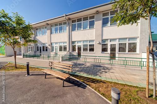 Zdjęcia na płótnie, fototapety, obrazy : Preschool building