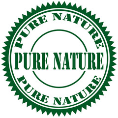 Pure Nature-stamp