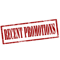 Recent Promotions-stamp