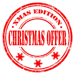 Christmas Offer-stamp