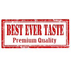 Best Ever Taste-stamp