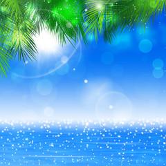 Ocean Sunny Glitters