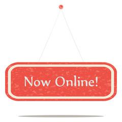 Now online