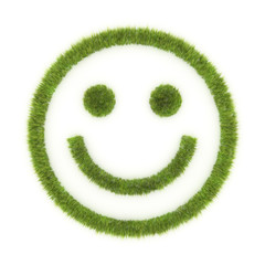 Smiley - grass