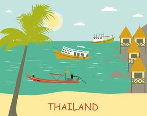 Thailand. Vector