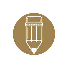 Pencil icon, vector.