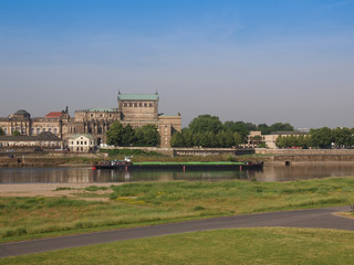 Elbe river in Dresden