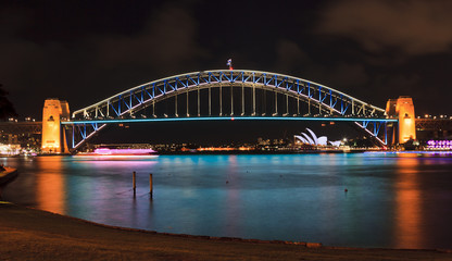Sydney Harbour Bridge 02 Vivid