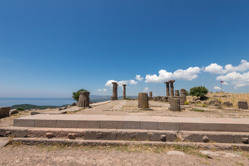 The ancient ruins of Assos, Turkey