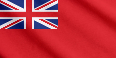 Red ensign, civil ensign of the British vessels