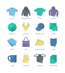 Apparel and Personal Items Icons