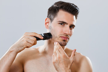Shaving the beard