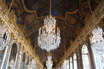 ベルサイユ宮殿、鏡の間、鏡の回廊