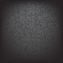 perforated carbon fiber weave