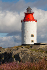 Lighthouse in Stockholm archipelago.