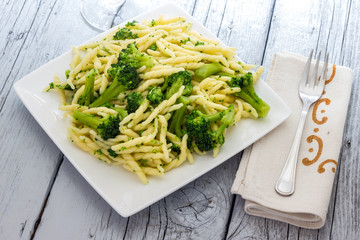 Trofie with broccoli