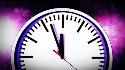 Uhrzeit Animation